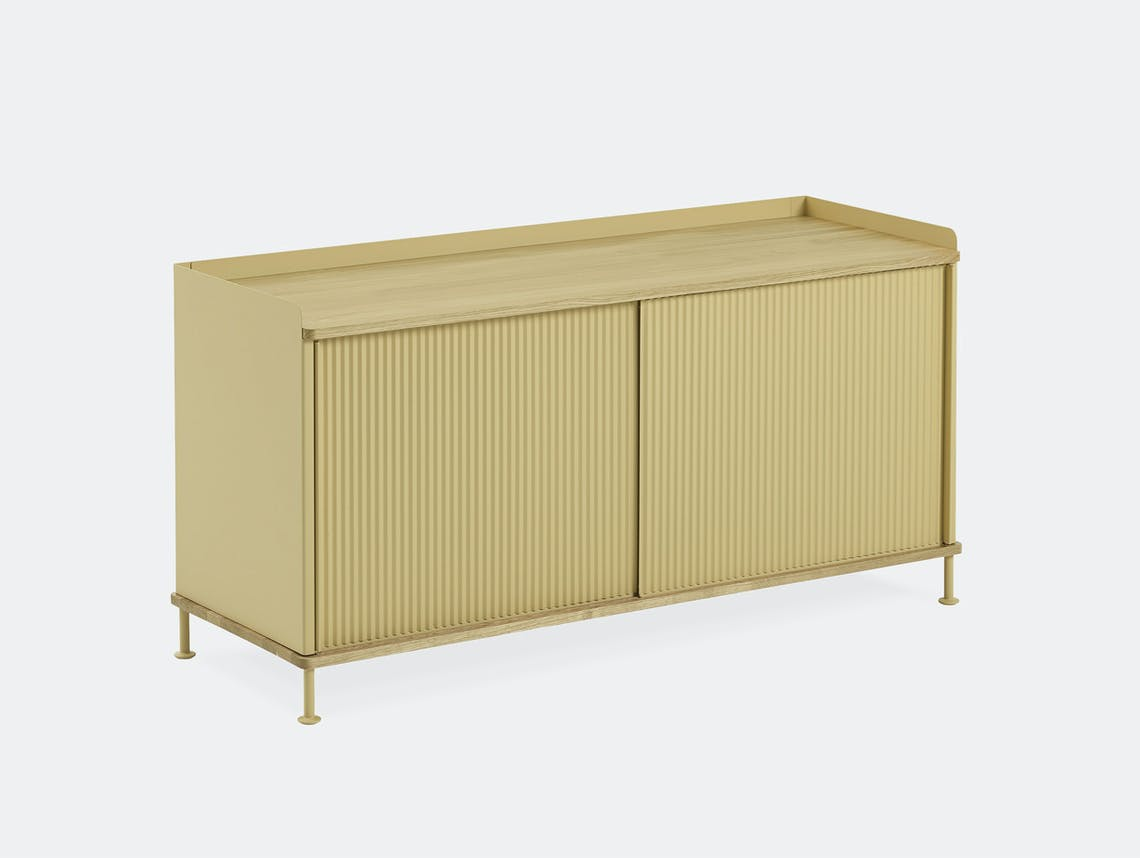 Muuto enfold low sideboard sand 2yellow all