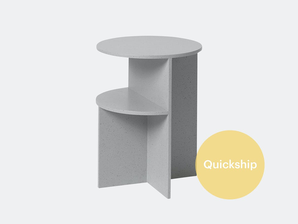 Muuto halves side table qs