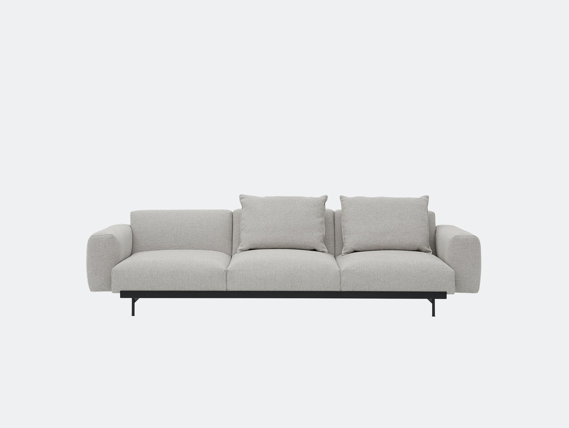 Muuto in situ 3 seater clay 12