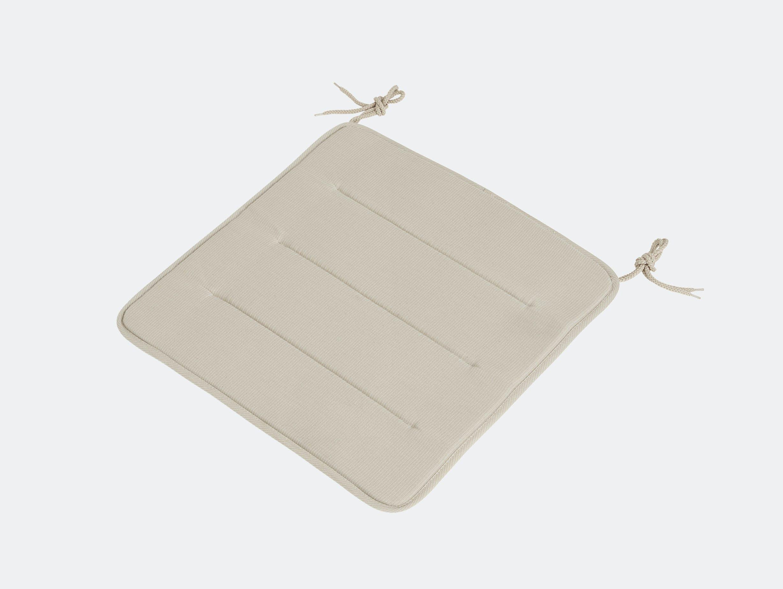 Muuto linear steel chair seatpad grey