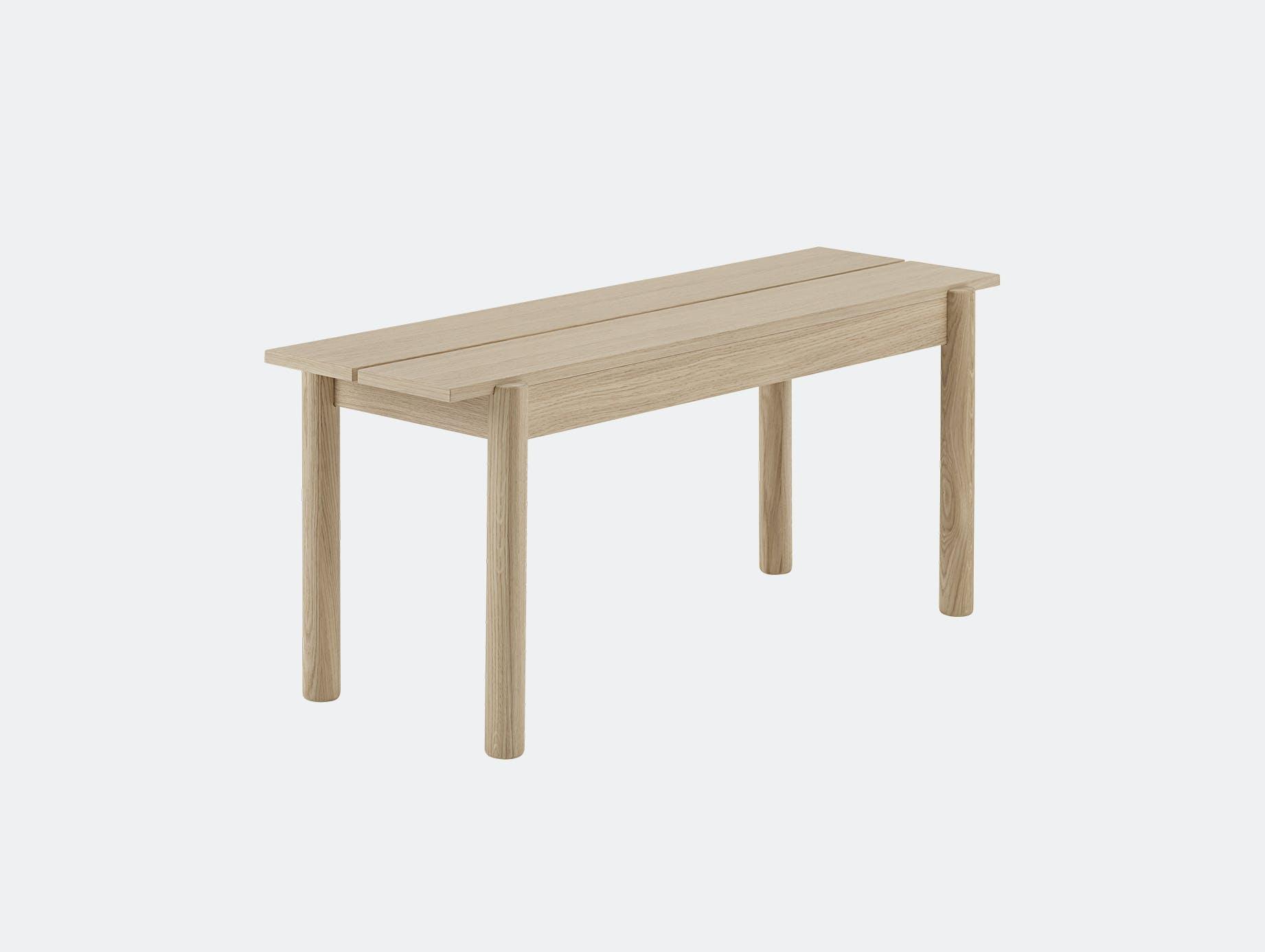 Muuto linear wood bench 110 cm