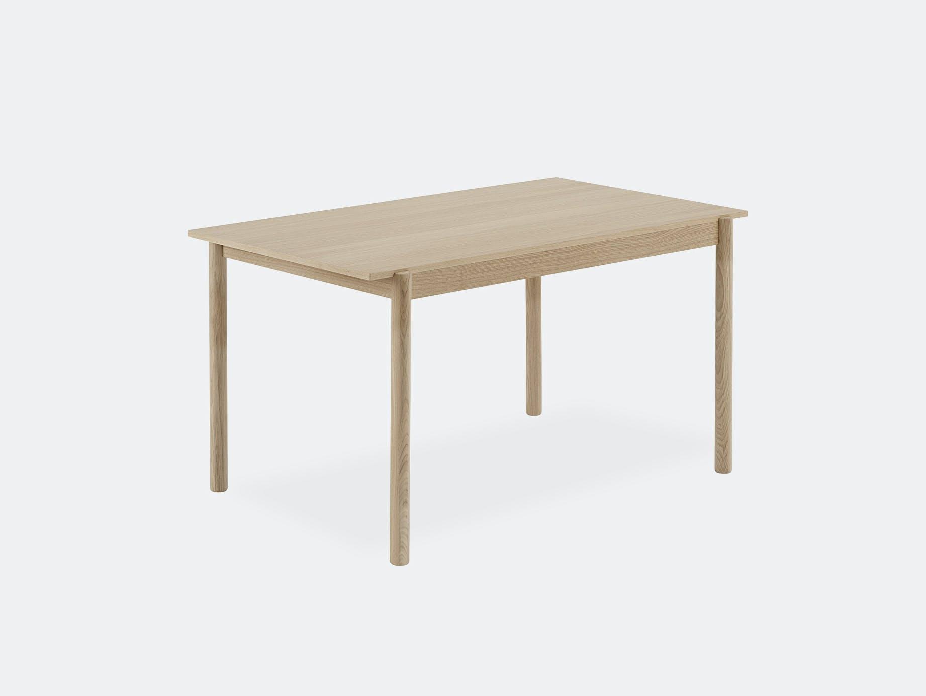 Muuto linear wood table 140cm small