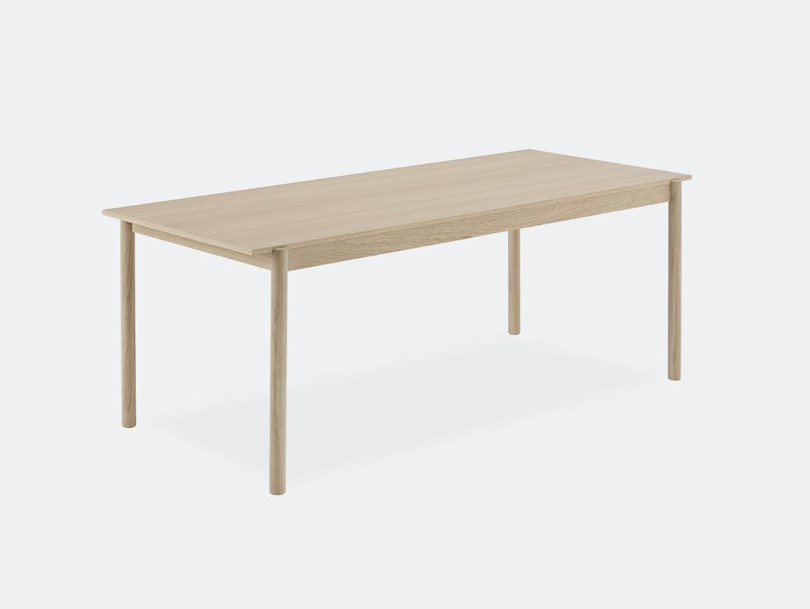 Muuto linear wood table 200cm medium