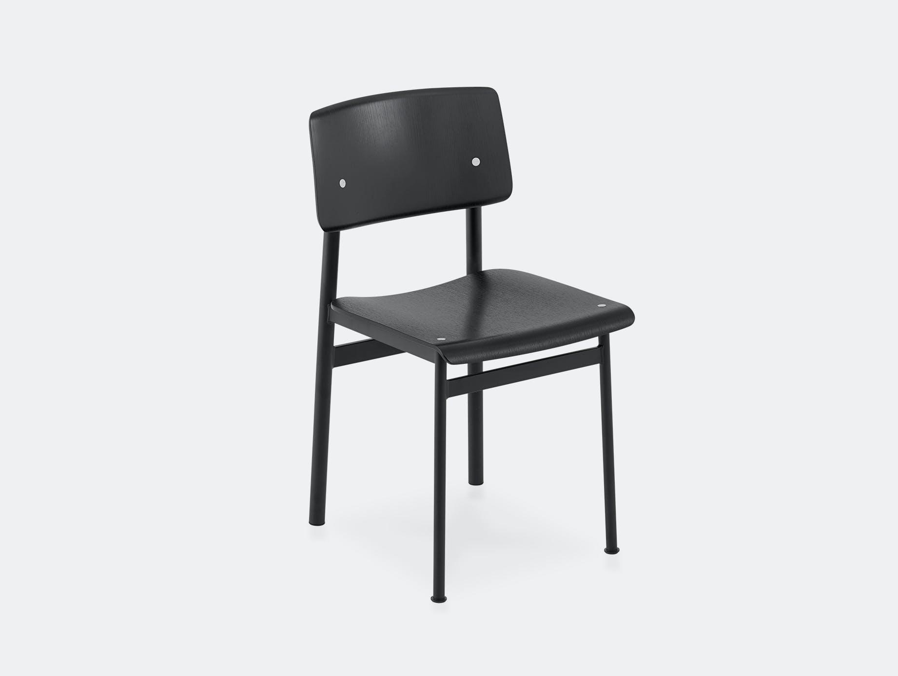 Muuto loft chair all black