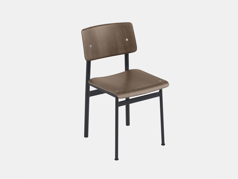 Muuto loft chair dark brown