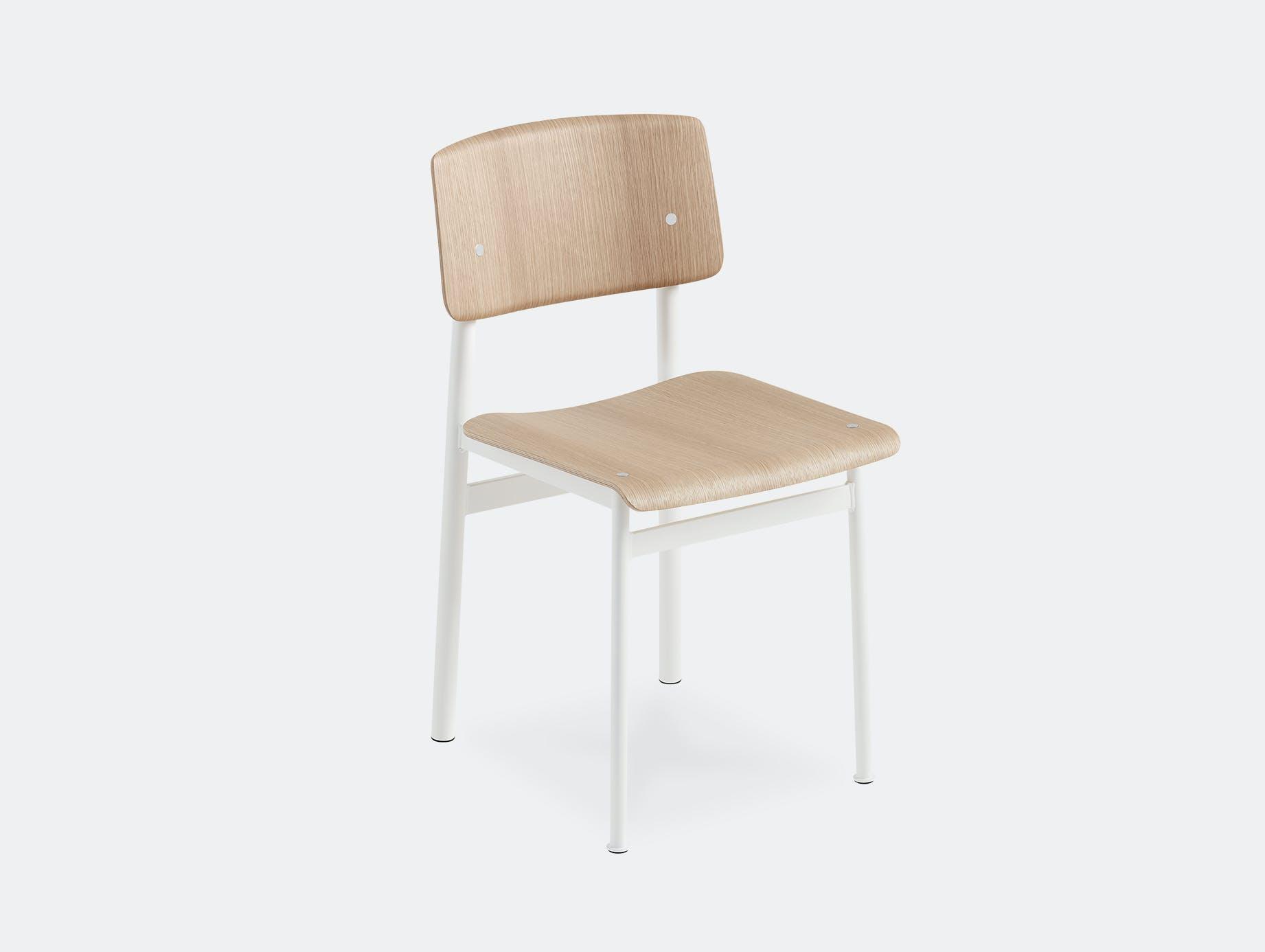 Muuto loft chair white oak