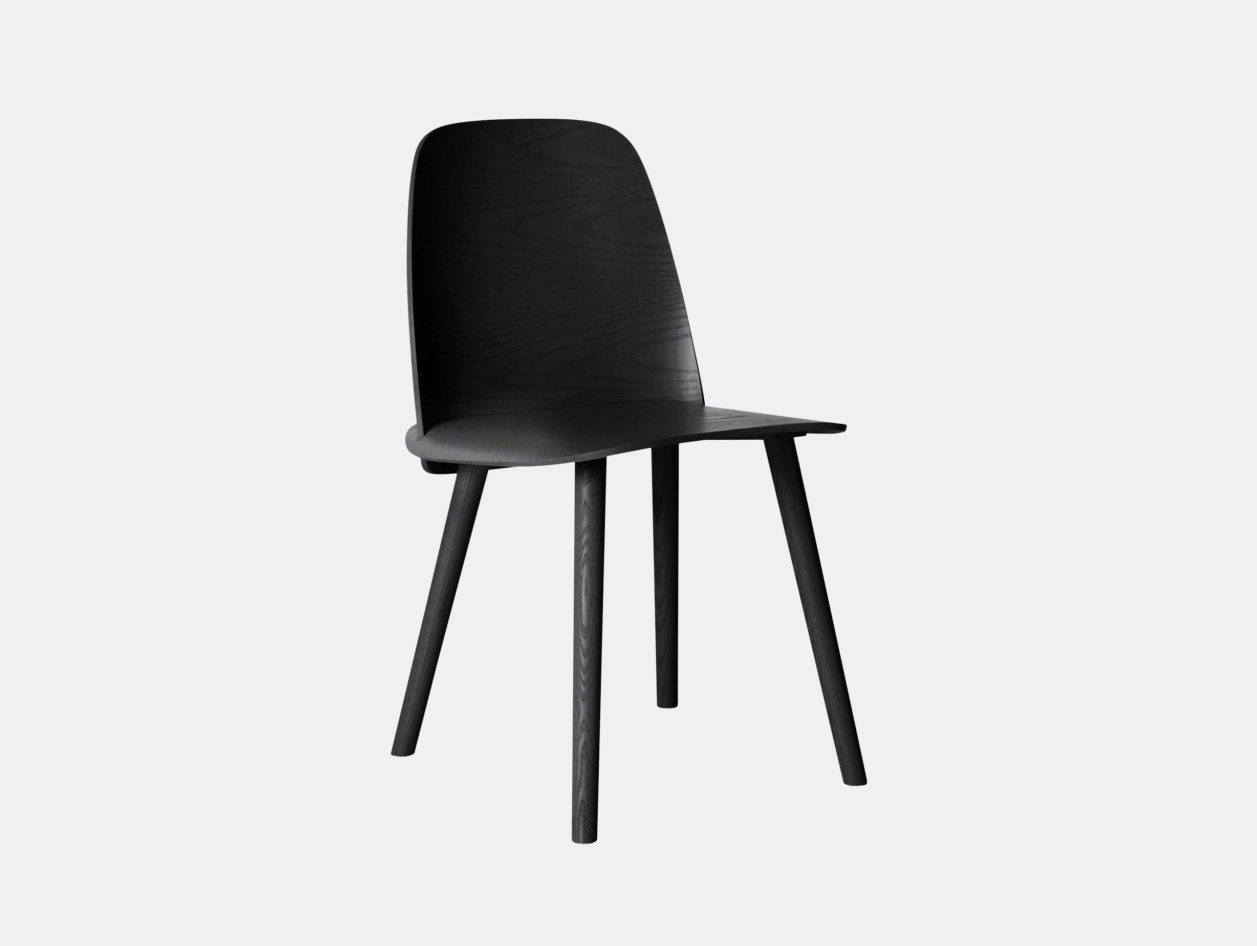 Muuto Nerd Chair Black David Geckeler