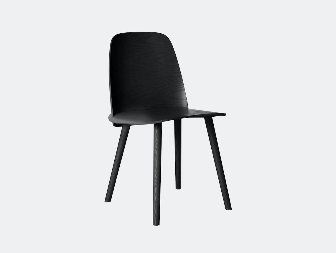 Muuto Nerd Chair Black David Geckeler