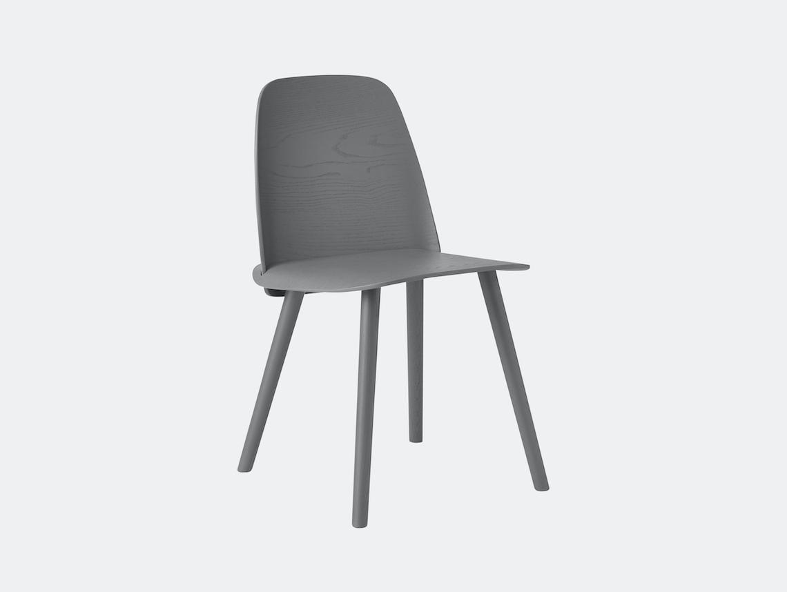 Muuto Nerd Chair Dark Grey David Geckeler