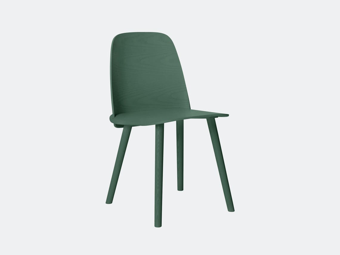 Muuto Nerd Chair Green David Geckeler