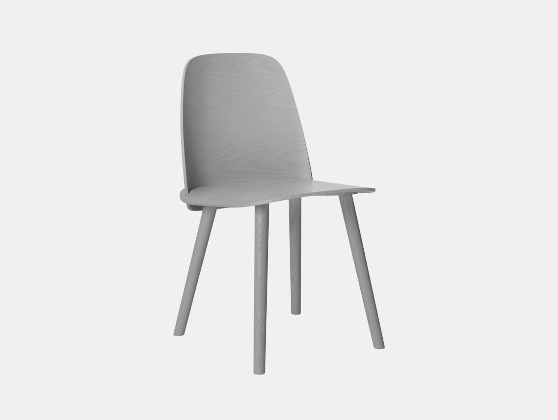 Muuto Nerd Chair Grey David Geckeler