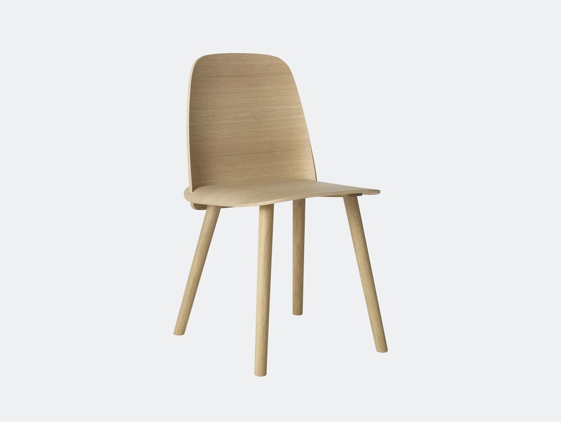 Muuto Nerd Chair Oak David Geckeler