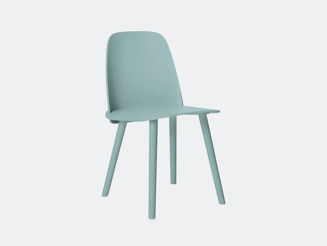 Muuto Nerd Chair Petroleum David Geckeler