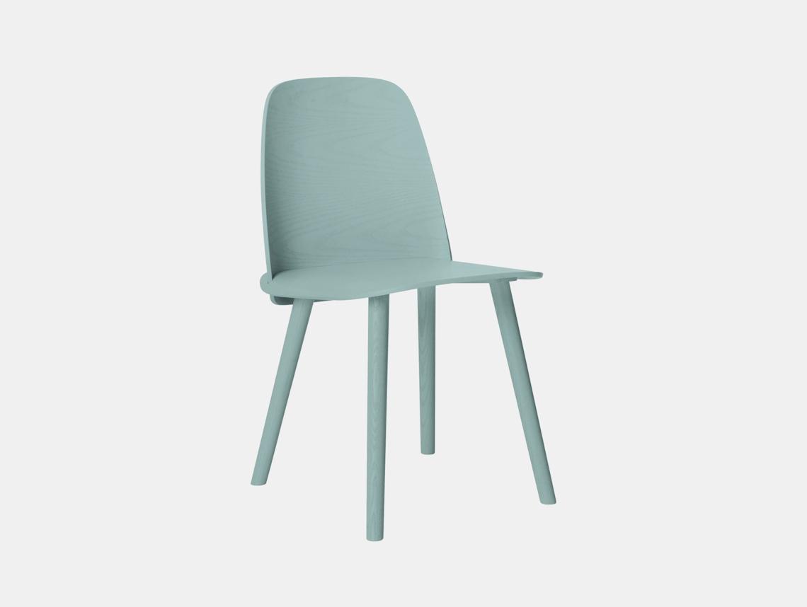 Muuto Nerd Chair Petroleum David Geckeler