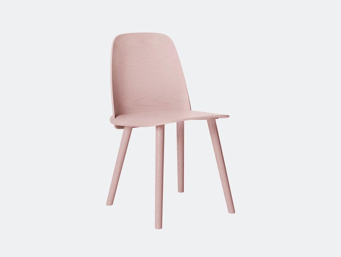 Muuto Nerd Chair Rose David Geckeler