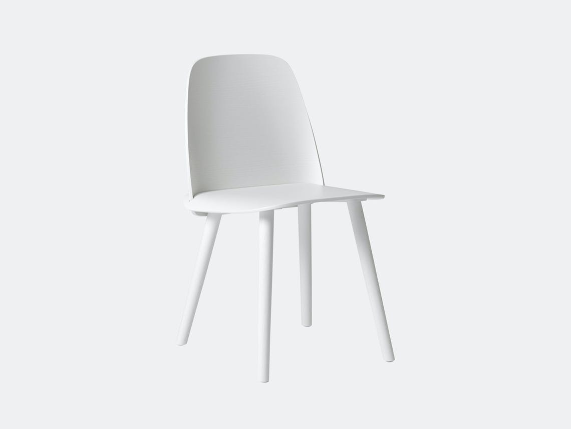 Muuto Nerd Chair White David Geckeler