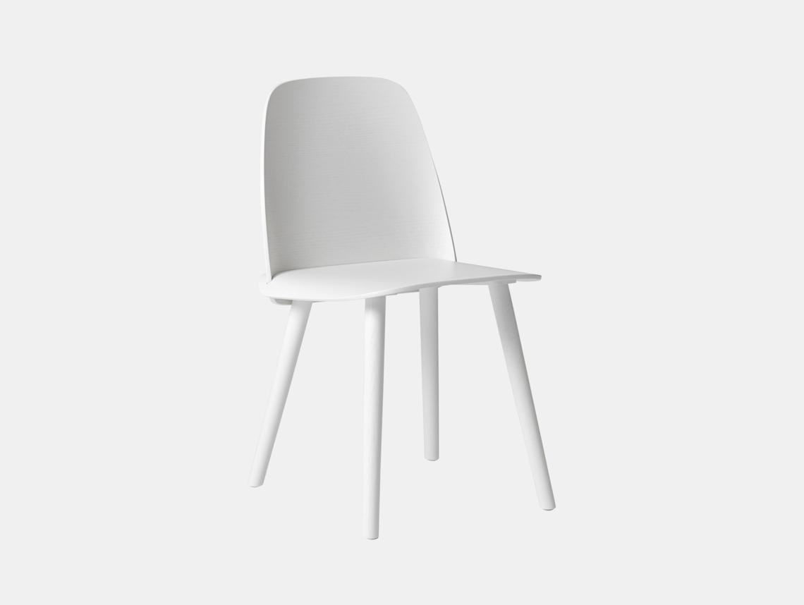 Muuto Nerd Chair White David Geckeler