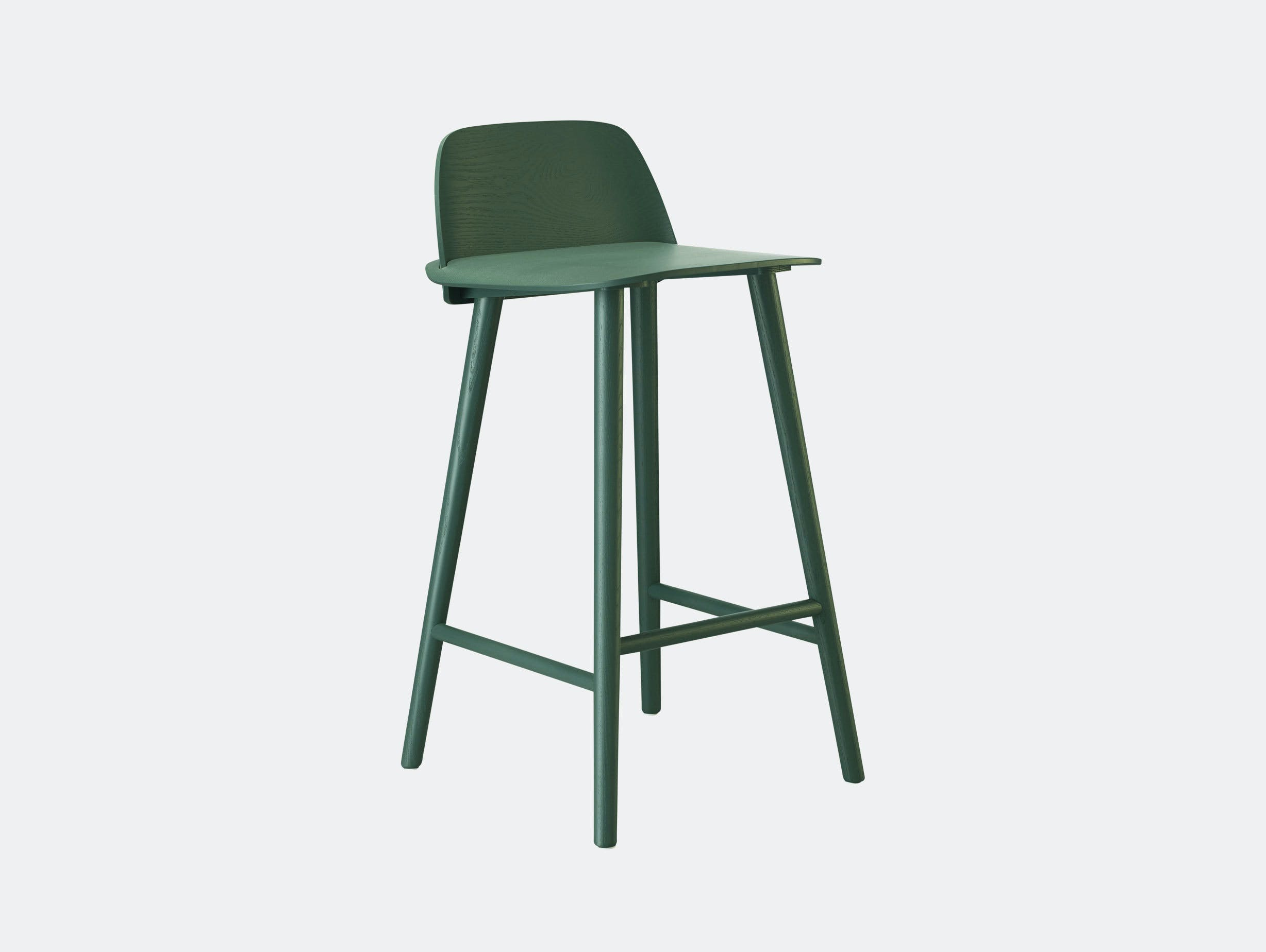 Muuto Nerd Stool Green David Geckeler