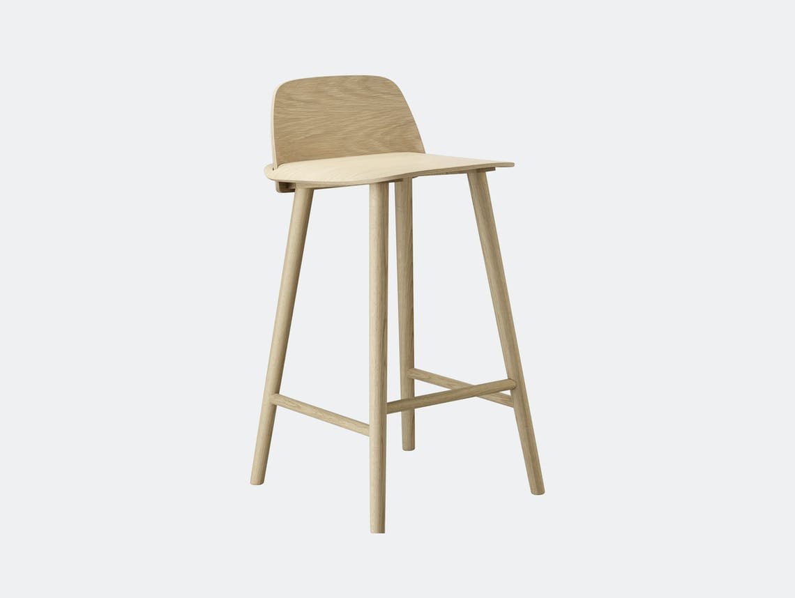 Muuto Nerd Stool Oak David Geckeler