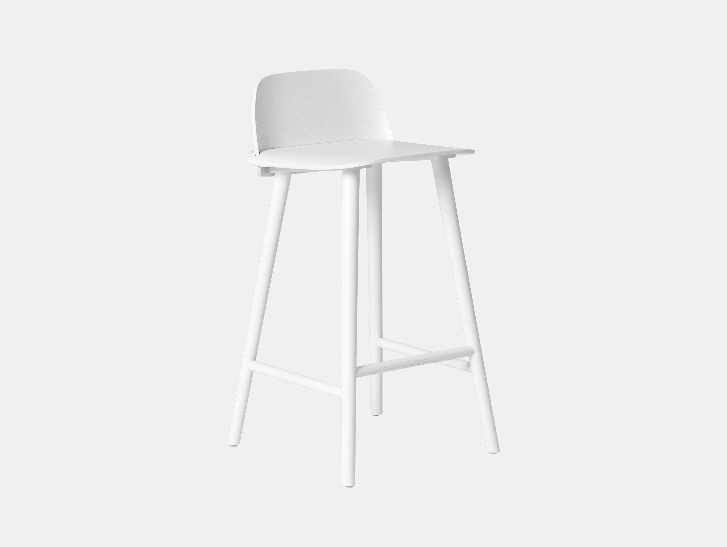 Muuto Nerd Stool White David Geckeler