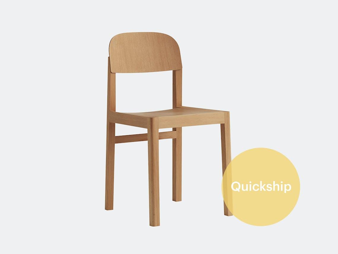 Muuto workshop chair pine qs