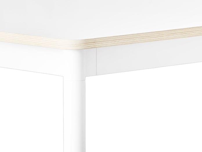 Base Table White Plywood Detail
