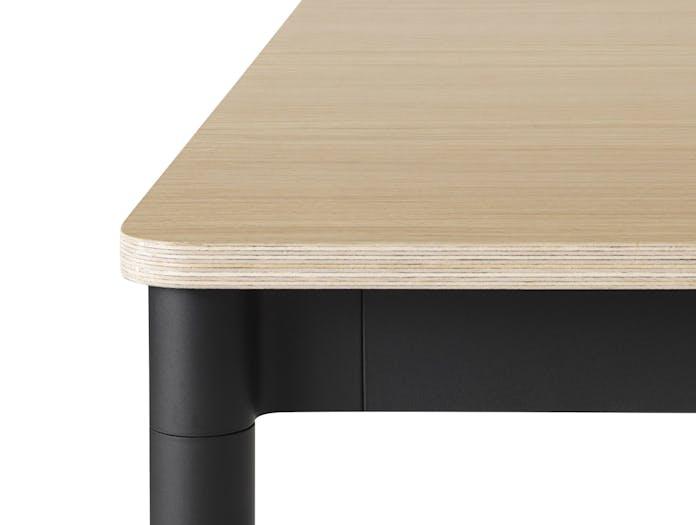Base Table 250X90 Oak Black Detail Wb Med Res
