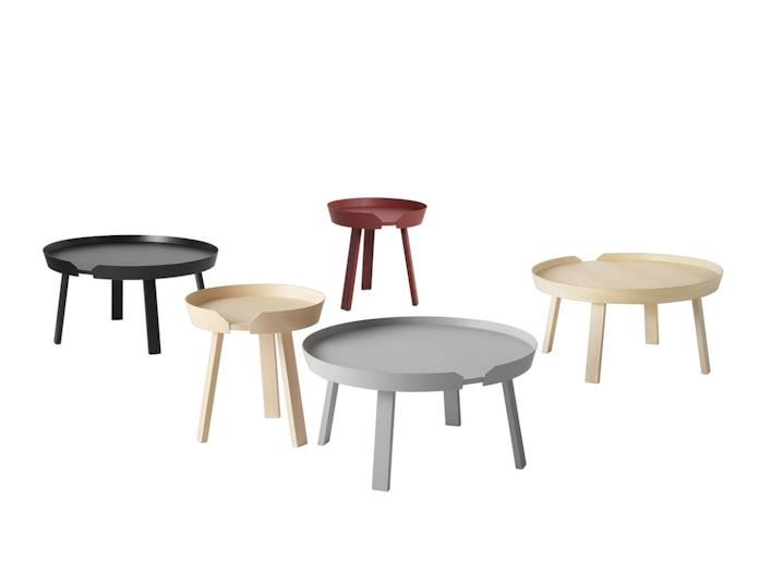 Menu Around Coffee Tables Thomas Bentzen