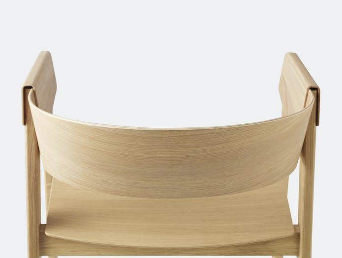 Muuto Cover Chair Oak Detail 1