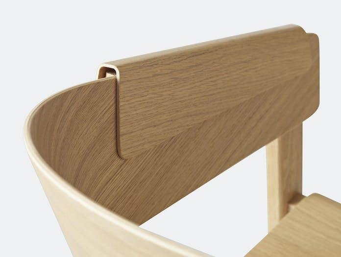 Muuto Cover Chair Oak Detail 3
