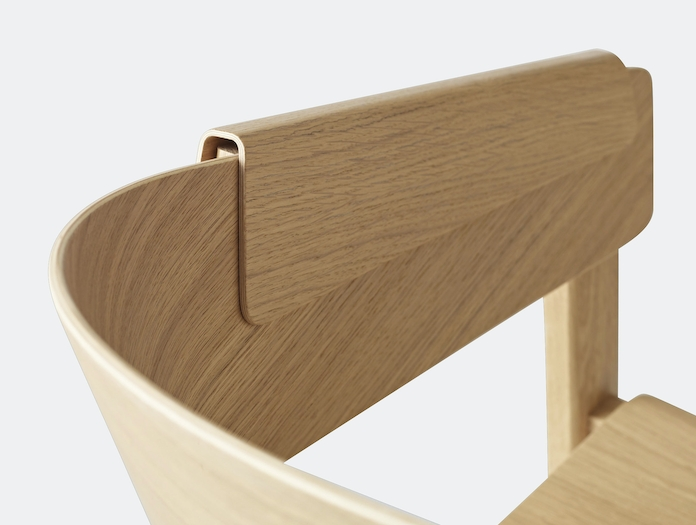 Muuto Cover Chair Oak Detail 3