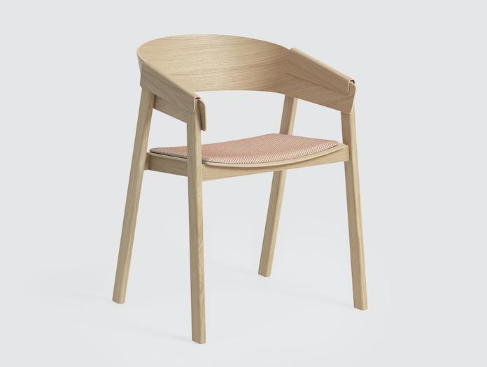 Muuto Cover Chair Tracery Copper Thomas Bentzen
