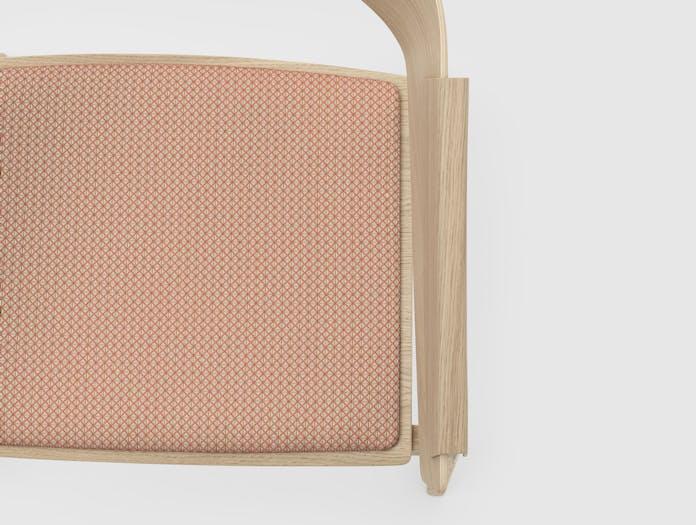 Muuto Cover Chair Tracery Copper Detail Thomas Bentzen