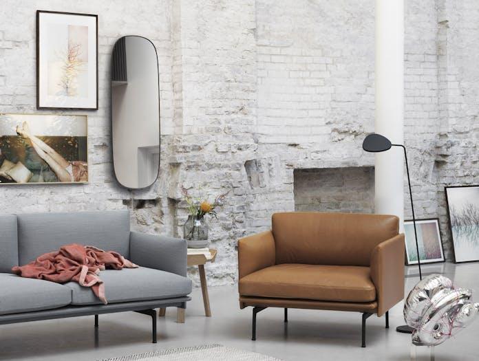 Muuto Framed Mirror Large Grey 2 Anderssen Voll