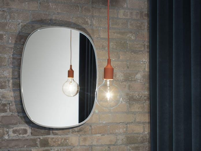 Muuto Framed Mirror Small Grey 2 Anderssen Voll