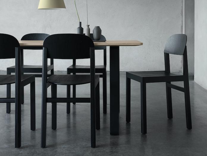Muuto Workshop Chair Black 2 Cecilie Manz