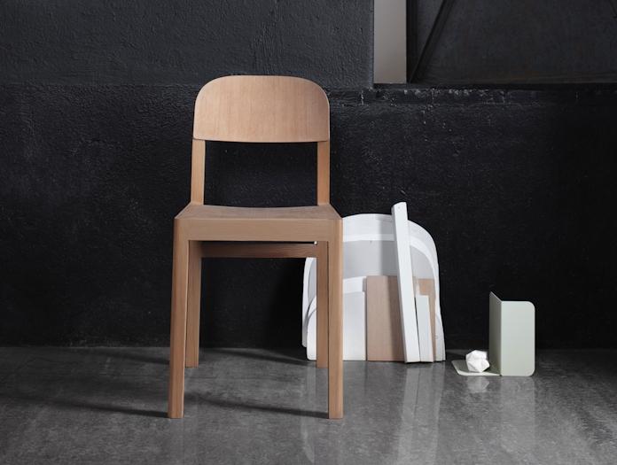 Muuto Workshop Chair Front Cecilie Manz