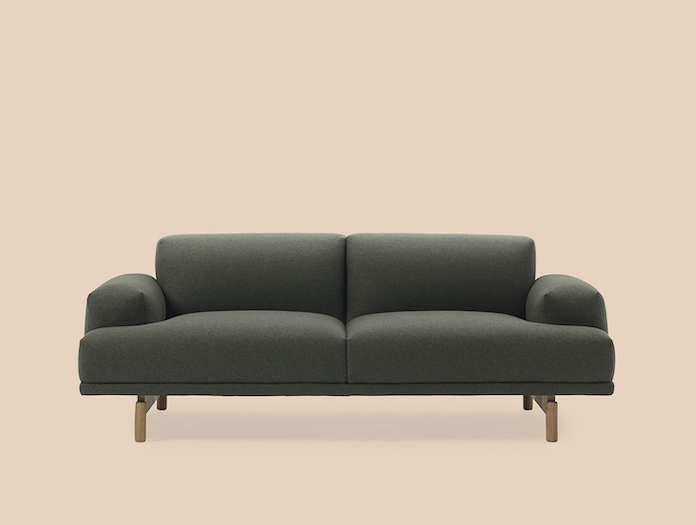 Muuto Compose 2 Seater Wooly 1011