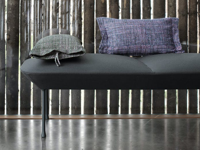 Muuto Oslo Bench Accent Cushion High Res Lifestyle