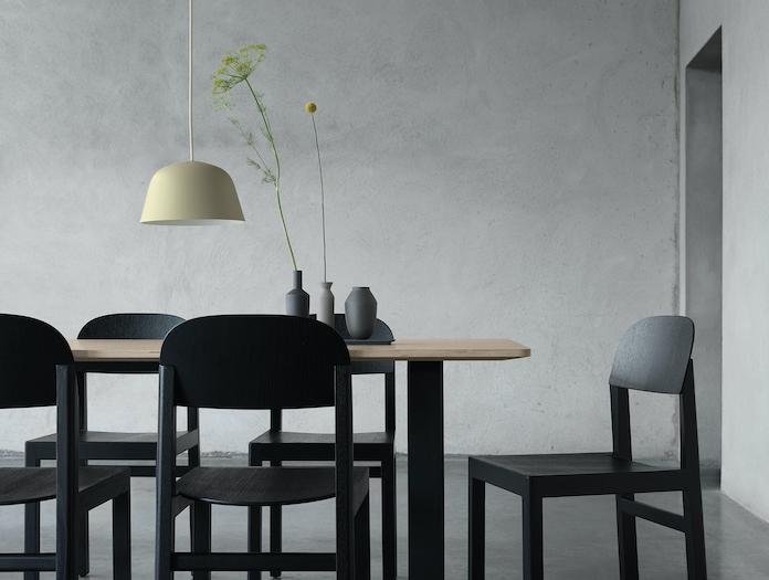Muuto Ambit Pendant Lamp Green Beige 2 Taf Studio