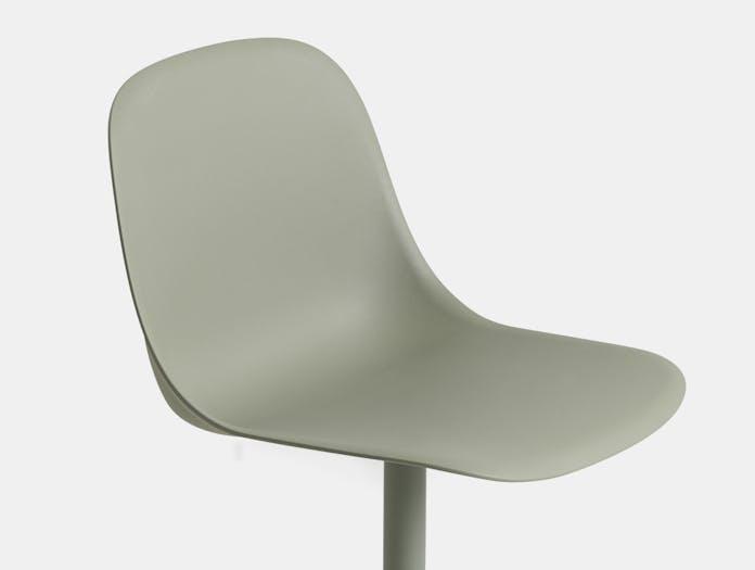 Muuto fiber swivel side chair cls