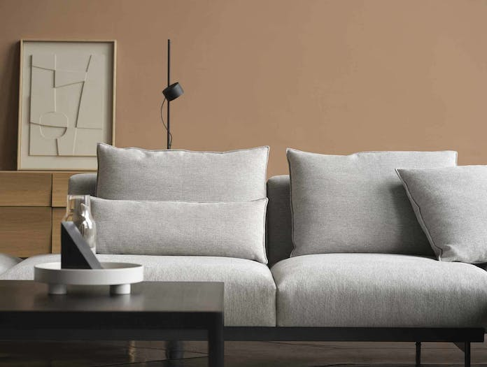 Muuto in situ modular sofa detail