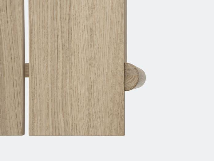 Muuto linear bench table wood 6
