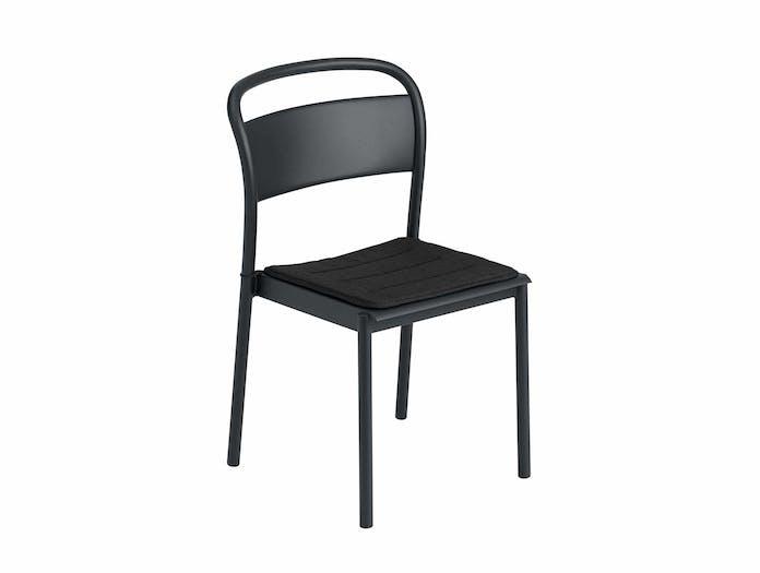 Muuto linear steel chair w seatpad ls 2