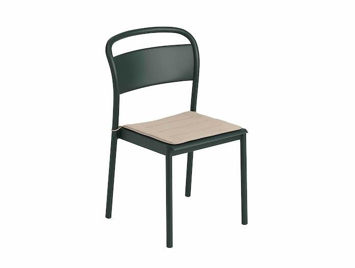 Muuto linear steel chair w seatpad ls 3