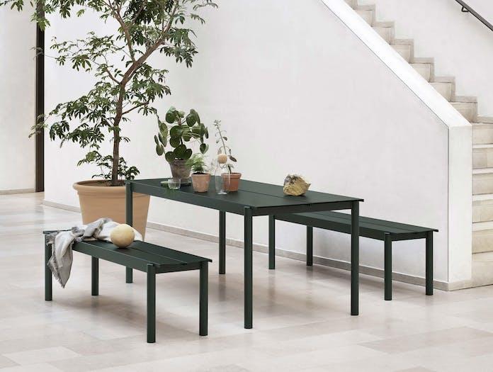 Muuto linear steel outdoor table ls 3