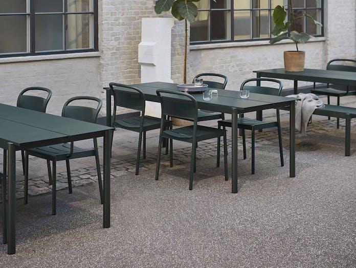 Muuto linear steel outdoor table ls 4
