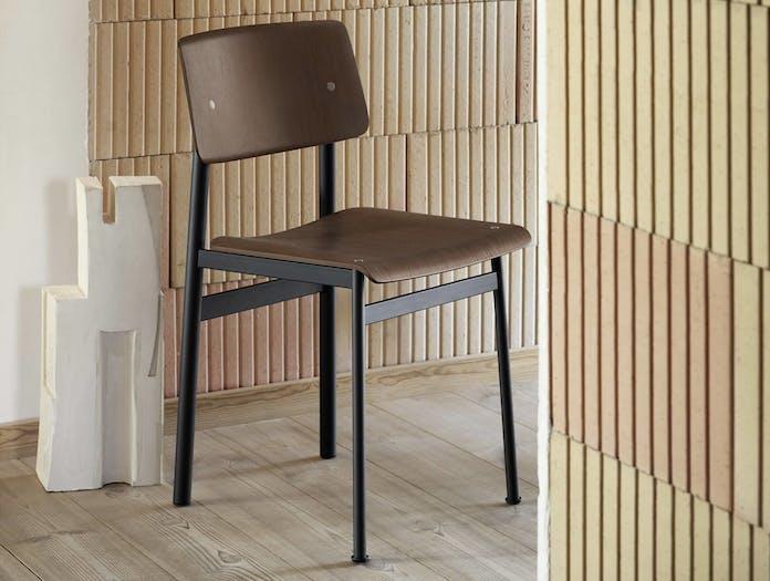 Muuto loft chair dark brown ls