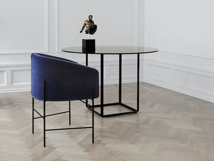 New Works Covent Chair Florence Dining Table
