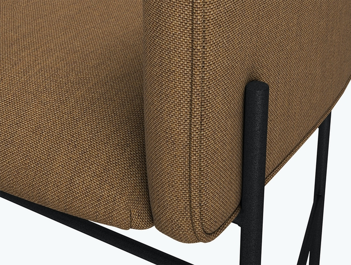New Works Covent Chair Kvadrat Remix 433 Detail Rene Hougaard